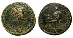 Trajan / Cyrrhus, Syrie / Zeus Kataibate...