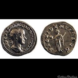 Antoninien de Gordien III / Rome / Providentia