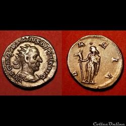 Antoninien de Trajan Dèce / Rome / Dacia