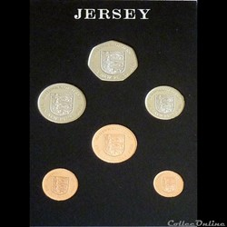 JERSEY - New Pence 1980