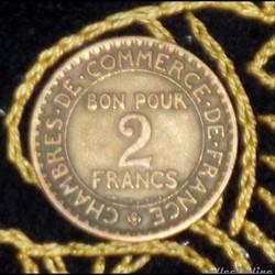 2 FRANCS Monnaies de nécessité