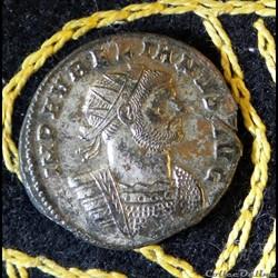 monnaie antique romaine aurelien virt militvm