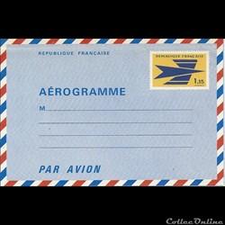 AEROGRAMME au logo de la poste