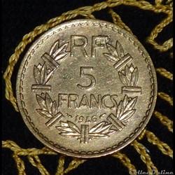 5 FRANCS Lavrillier