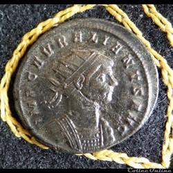 monnaie antique romaine aurelien oriens avg