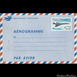 AEROGRAMME - La série Concorde