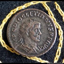DIOCLETIEN - Antoninian de 3,54g et 22mm de diamètre.