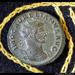 monnaie antique romaine aurelien restitvt or bis