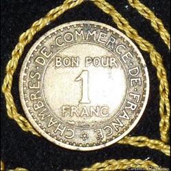 1 FRANCS Monnaies de nécessité