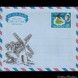 Les Antilles ANGLAISES - Aérogramme