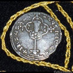 NICEPHORUS II PHOCAS - Miliaresion de 2,73 et 22 mm de diamètre.
