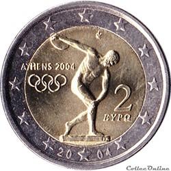 Grèce - 2004 : Jeux olympiques d'Athènes...