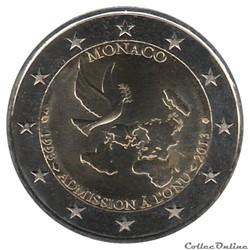Monaco - 2013 : 20e anniversaire de l'ad...