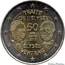 France - 2013 : 50e anniversaire du Trai...