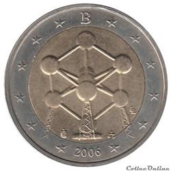 Belgique - 2006 : Rénovation de l'Atomium, à Bruxelles