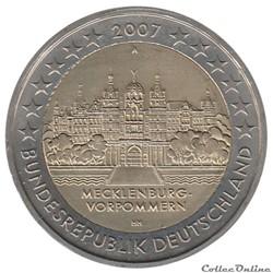 Allemagne - 2007 : Présidence du Mecklem...