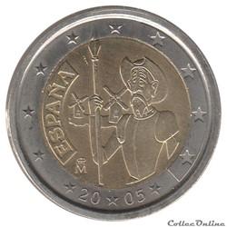 Espagne - 2005 : 400e anniversaire de la...
