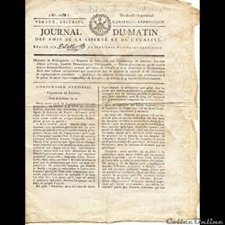 Journal du Matin du 12 Germinal An II ( ...