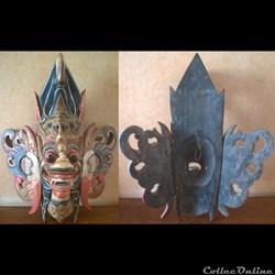 Masque Sri lankais (Ceylan) ou Balinais ...