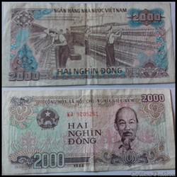 2000 dông Vietnam 1988