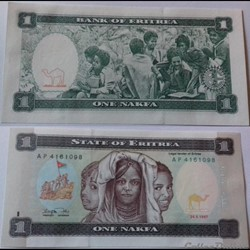 1 Nakfa Érythrée 1987