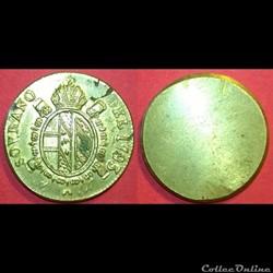 Poids monétaire Souverain d'Or François ...