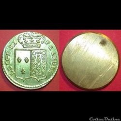 Poids monétaire italien pour le Louis d'...