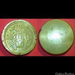Poids monétaire du 96 Lires de Gênes