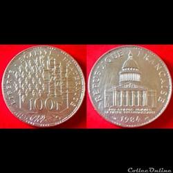 100 francs Panthéon Argent 900‰