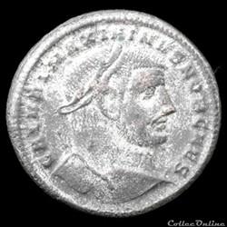 Follis de Maximin II Daïa césar  pour Hé...