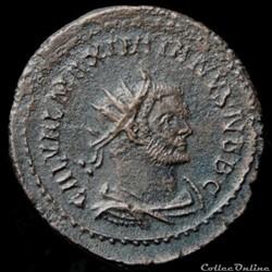 Aurélianus de Galère Maximien pour Lyon