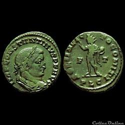 Follis de Constantin I auguste pour Lyon...
