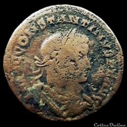 Follis de Constantin I auguste pour Lyon