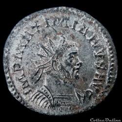 Aurelianus de Maximien Hercule  pour Lyon