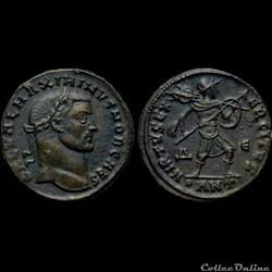 Follis de Maximin II Daïa césar pour Antioche