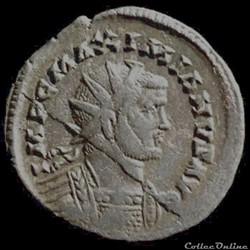 Aurelianus de Carausius au nom de Maximien Hercule pour Colchester