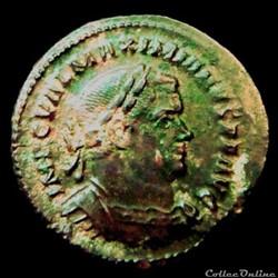 Follis de Maximien Hercule pour Trèves