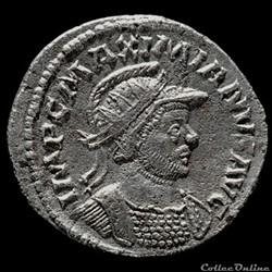 Aurelianus de Maximien Hercule pour Lyon inédit