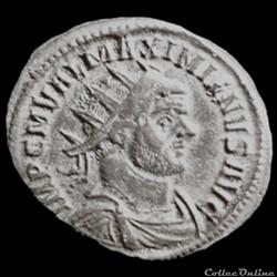 Aurelianus de Maximien Hercule pour Ticinium