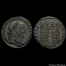 Follis de Galère Maximien auguste pour C...
