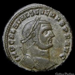 Follis de Sévère II auguste pour Héraclée