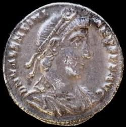 Silique de Valentinien I pour Rome