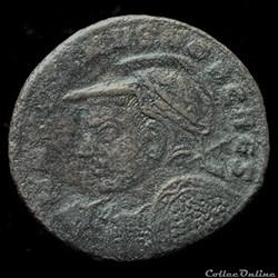 Follis de Maximin II Daïa césar pour Aqu...