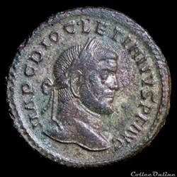 Follis de Dioclétien pour Lyon