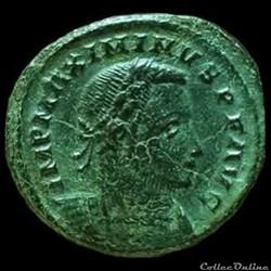Follis de Maximin II Daïa auguste  pour ...