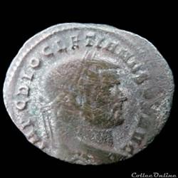 Follis de Diocletien pour Rome