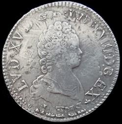 Écu vertugadin Louis XV