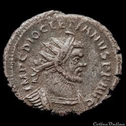 Aurelianus de Carausius au nom de Dioclé...