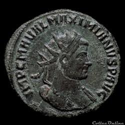 Aurelianus de Maximien Hercule pour Siscia