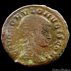 Follis de Romulus pour Rome